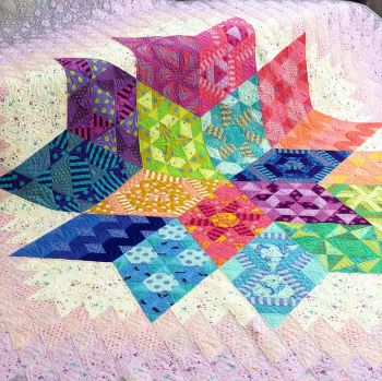 UK Nebula Block of the Month Quilt and Exclusive Tula Swag RESERVATION - UK Customers ONLY