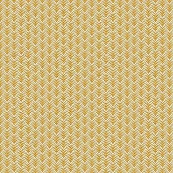 Golden Days Arrow Mustard Arrows Geometric Cotton Fabric