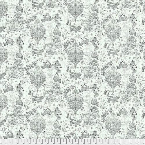 PRE-ORDER Tula Pink LINEWORK Sketchy Paper Monochrome Cotton Fabric