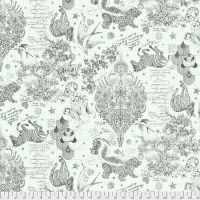 "Tula Pink LINEWORK Sketchyer Paper Monochrome Quilt Backing 108"" 2.70m Extra Wide Cotton Fabric"