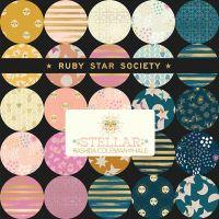 LJF Stellar & Zip Ruby Star Society Rashida Coleman-Hale 21 Full Collection Fat Quarter Bundle Cotton Fabric Cloth Stack