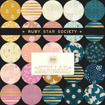 LJF Stellar & Zip Ruby Star Society Rashida Coleman-Hale 21 Full Collection Fat Quarter Bundle Cotton Fabric Cloth Stack
