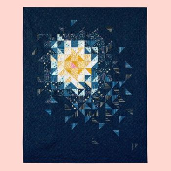 IN STOCK Stellar Comet Quilt Kit including Pattern and Fabric by Rashida Coleman-Hale and Ruby Star Society
