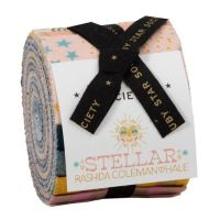 Ruby Star Society Stellar Zip! Rashida Coleman-Hale Junior Jelly Roll Quilting Strips Cotton Fabric