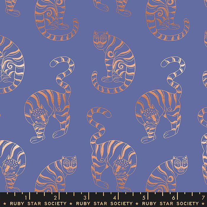 Airflow Tiger in the Taiga Black Metallic Cats Ruby Star Society Sasha Igna