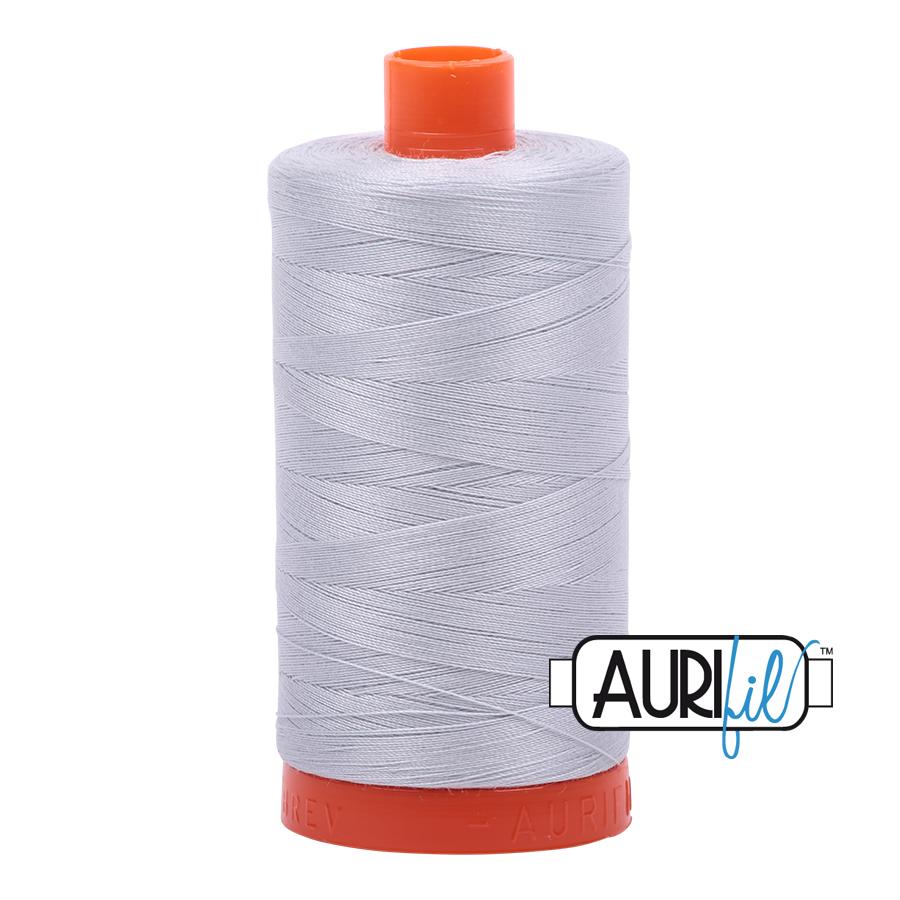 Aurifil 50wt Cotton Thread Large Spool 1300m 2600 Dove
