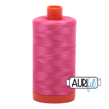 Aurifil 50wt Cotton Thread Large Spool 1300m 2530 Blossom Pink