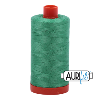 Aurifil 50wt Cotton Thread Large Spool 1300m 2860 Light Emerald