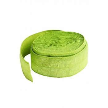 By Annie 3/4 inch 20mm Fold-Over Elastic Apple Green - 2 yards