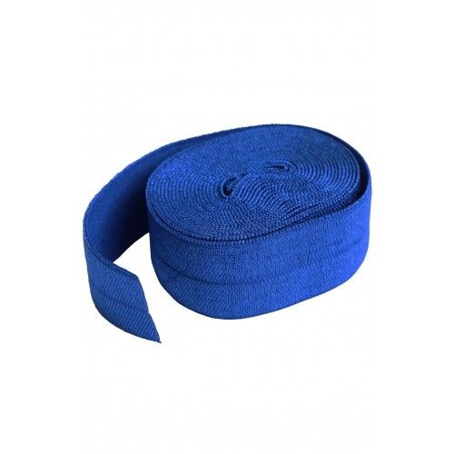 By Annie 3/4 inch 20mm Fold-Over Elastic Blastoff Blue - 2 yards