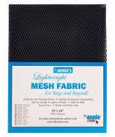 By Annie Lightweight Mesh Fabric Navy 18 in x 54 in