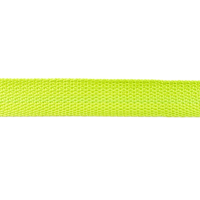 Bag Handles and Straps Webbing Lime Polypropylene 25mm 1 inch Wide Polypro Strapping Per Metre