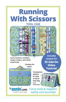 By Annie Running With Scissors Sewing Tool Case Pattern