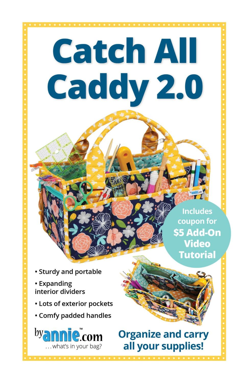 By Annie Catch All Caddy 2.0 Bag Pattern