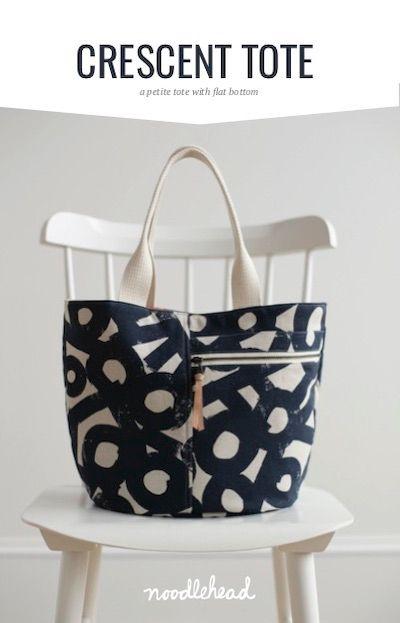 Noodlehead Crescent Tote Bag Pattern