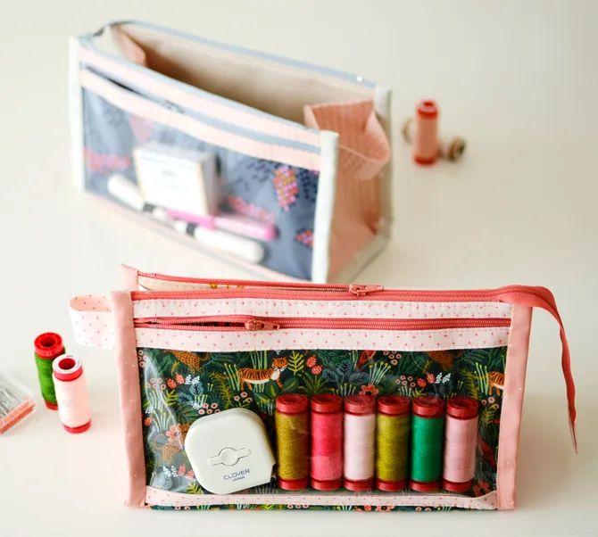 Aneela Hoey Inside Out Pouch Pattern