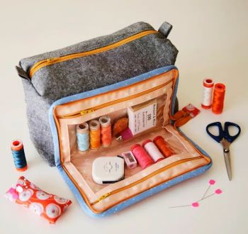 Aneela Hoey All In One Box Pouch Pattern