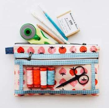 Aneela Hoey Twice As Nice Pouch Pattern