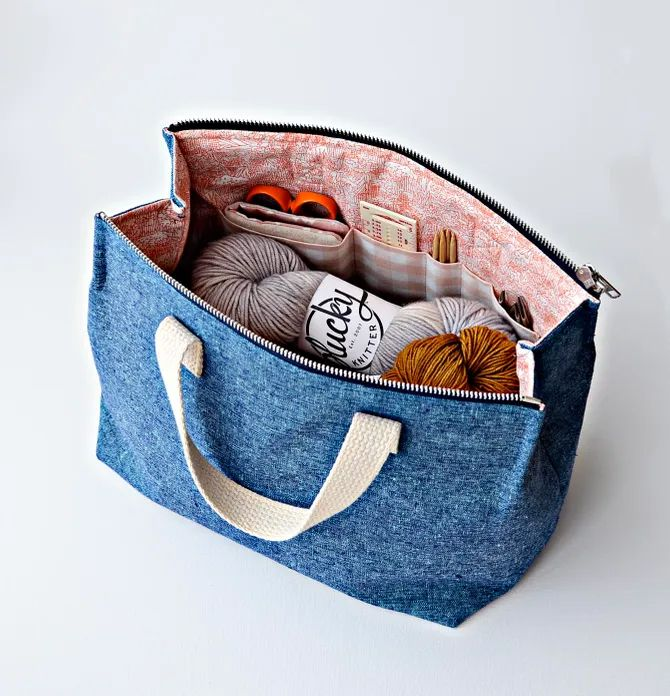 BRAND NEW Aneela Hoey Kit Supply Tote Pattern