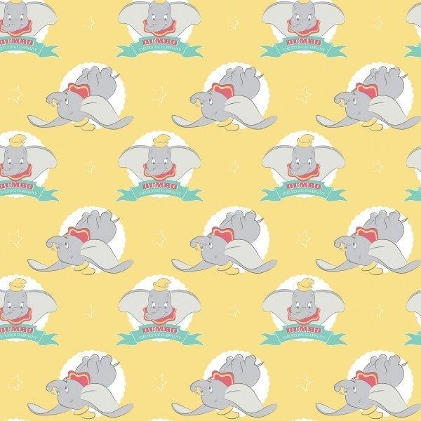 Disney Classics Dumbo In The Circus Flying Elephant Yellow Fun Baby Elephan