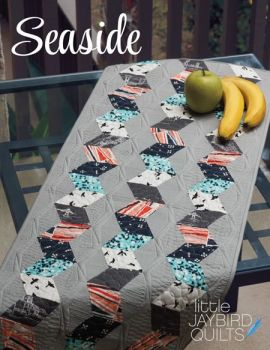 PRE-ORDER Journey To Nebula Part 1 - Seaside Pattern by Jaybird Quilts