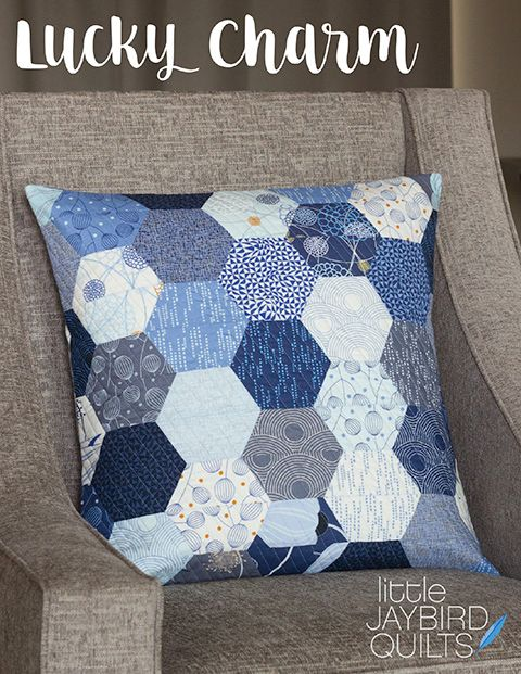 PRE-ORDER Journey To Nebula Part 2 - Lucky Charm Pattern by Jaybird Quilts