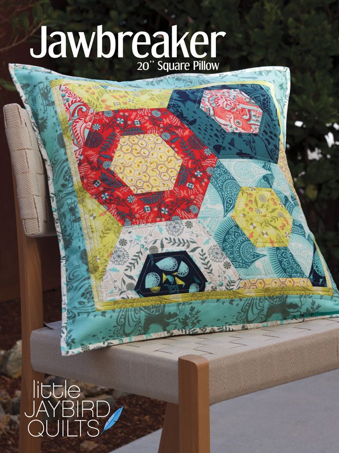 PRE-ORDER Journey To Nebula Part 3 - Jawbreaker Pattern by Jaybird Quilts