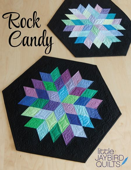 PRE-ORDER Journey To Nebula Part 4 - Rock Candy Pattern by Jaybird Quilts