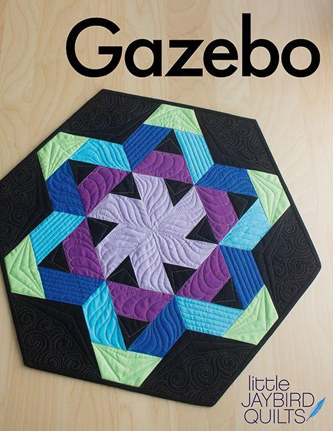 PRE-ORDER Journey To Nebula Part 6 - Gazebo Pattern by Jaybird Quilts