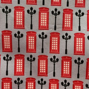 DESTASH DAILY DEALS Telephone Box Fabric Minimum 4.5m