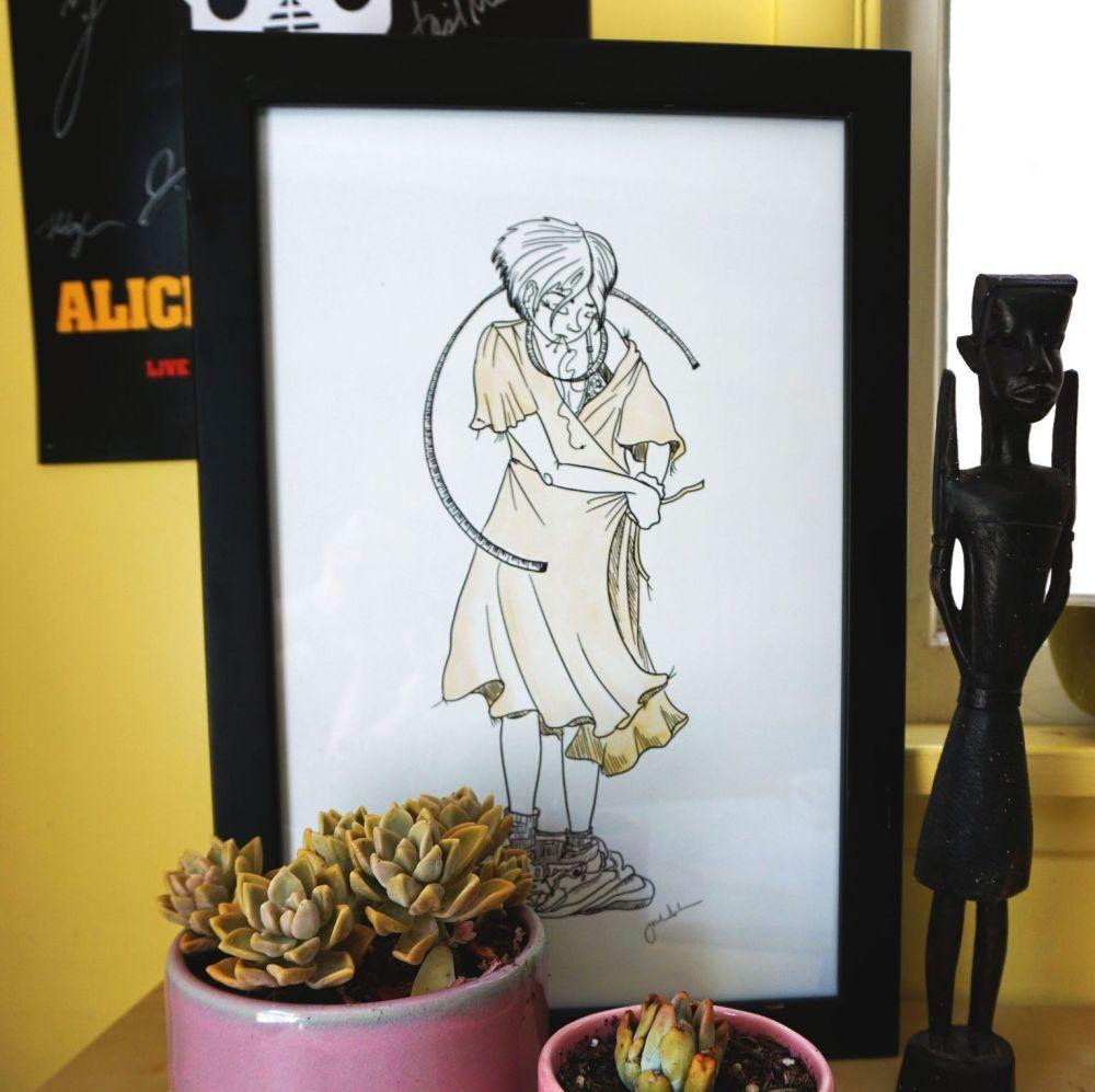 UK EXCLUSIVE Jasika Nicole Sew Close Illustration 11