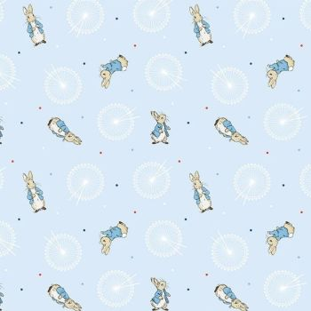 Peter Rabbit London Beatrix Potter City Icon London Eye Cotton Fabric