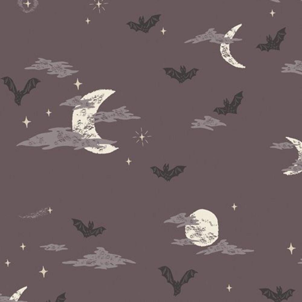 Spooky 'n Sweet Batty Over You in Night Halloween Bats Night Sky Hallowe'en