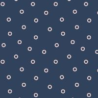 Figo Sunkissed Tiny Tubes Navy Rubber Ring Life Buoys Sea Nautical Seaside Vacation Cotton Fabric