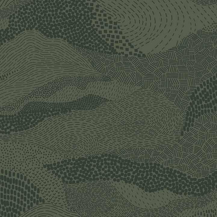Figo Basics Elements Green Blender Coordinate Texture Cotton Fabric