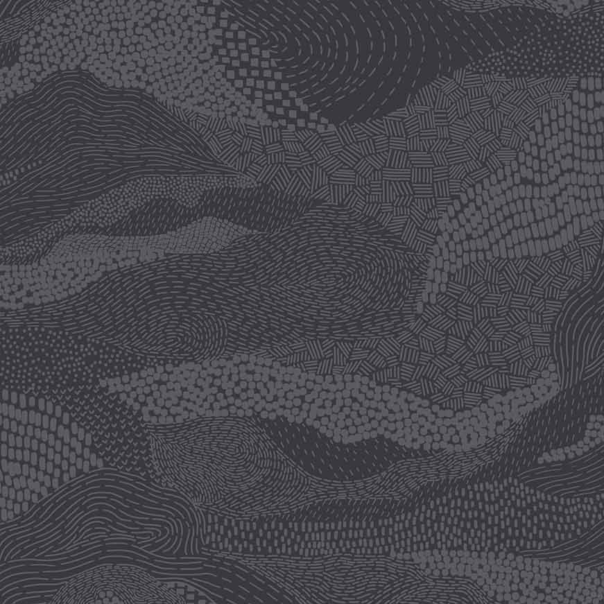 Figo Basics Elements Grey Blender Coordinate Texture Cotton Fabric
