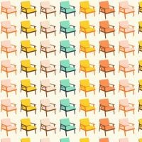 Figo Butterscotch Chairs White Furniture Chair Geometric Cotton Fabric