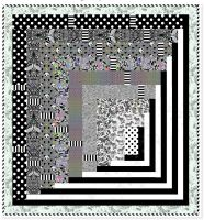 LINEWORK Tula Pink Tunnel Vision Quilt Kit with Fabric Only - Pattern Available online from FreeSpirit Fabrics
