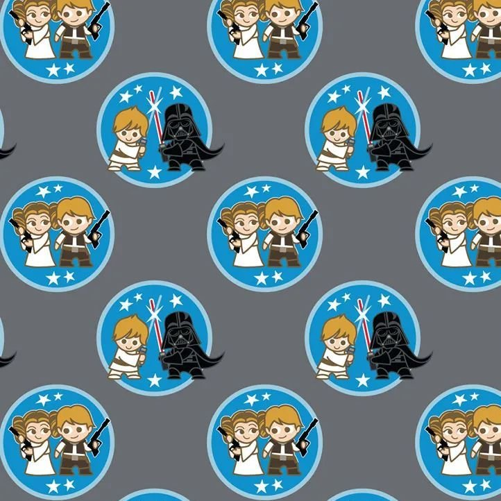 Star Wars Duos DELUXE Kawaii Characters Badges Luke Skywalker Darth Vader H