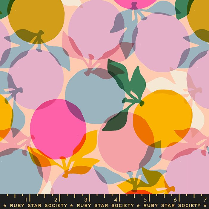 Clementine Sunshine Ruby Star Society Melody Miller Cotton Fabric