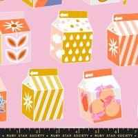 Clementine Juicy Peony Juice Box Ruby Star Society Melody Miller Cotton Fabric