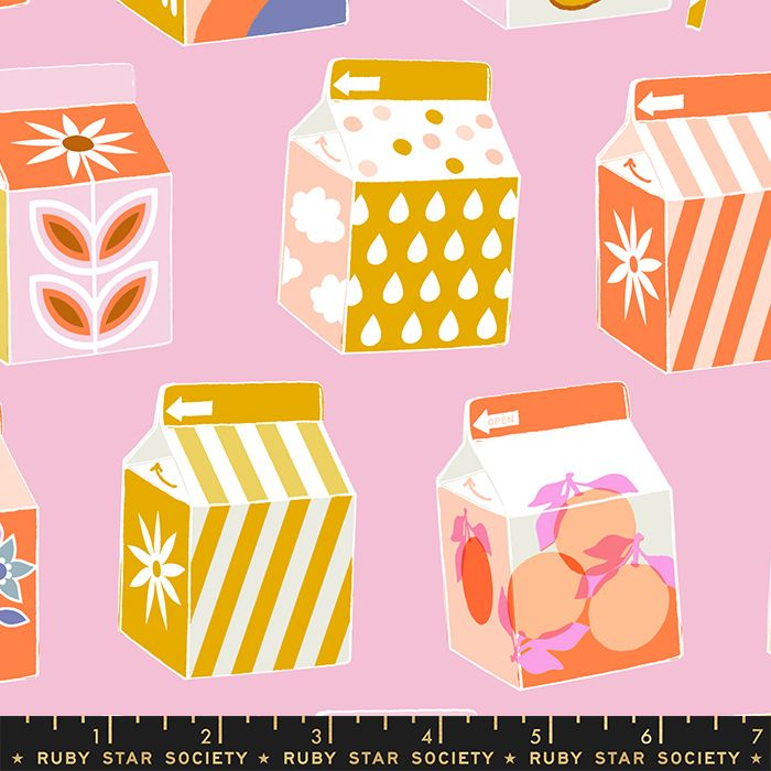 Clementine Juicy Peony Juice Box Ruby Star Society Melody Miller Cotton Fab