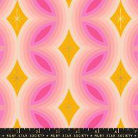 Clementine Rattan Sunshine Metallic Geometric Ruby Star Society Melody Miller Cotton Fabric