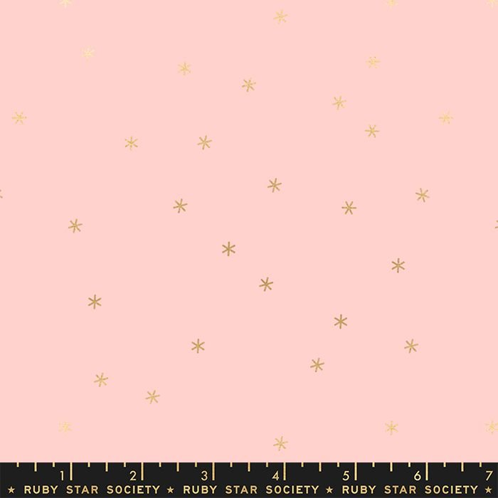Clementine Spark Pale Pink Metallic Star Ruby Star Society Melody Miller Co