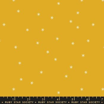 Clementine Spark Goldenrod Star Ruby Star Society Melody Miller Cotton Fabric