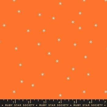 Clementine Spark Orange Star Ruby Star Society Melody Miller Cotton Fabric