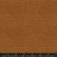 Warp and Weft Wovens Chore Coat Earth Alexia Abegg Ruby Star Society Cotton Fabric