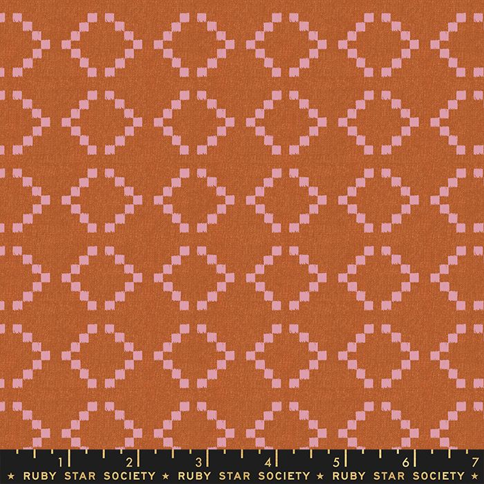 Warp and Weft Wovens Parade Lavender Alexia Abegg Ruby Star Society Cotton