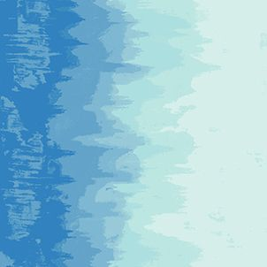 Inferno Arctic Blue Ombre Graduated Colour Giucy Giuce Cotton Fabric