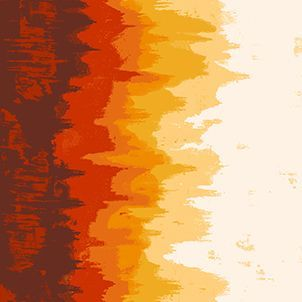 Inferno in Inferno Ombre Graduated Colour Giucy Giuce Cotton Fabric